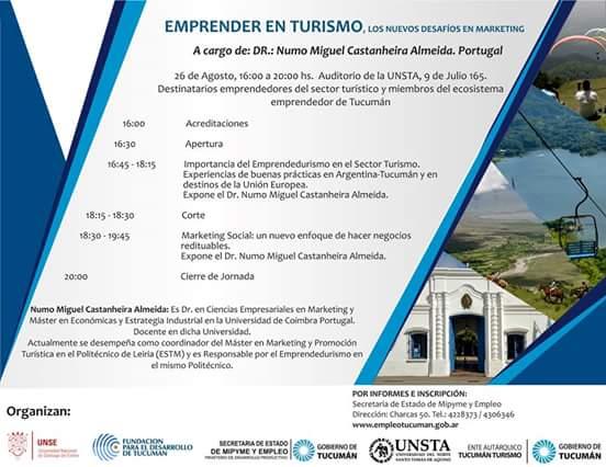 Emprender En Turismo,los Nuevos Desafíos.
