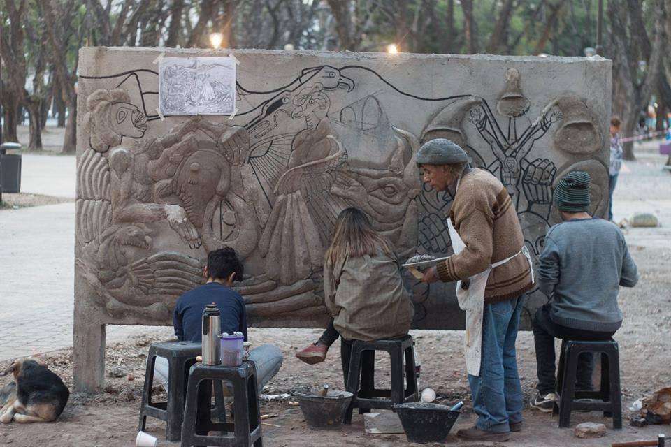 Editorial Del Diaro La Gaceta Sobre El Encuentro De Muralismo