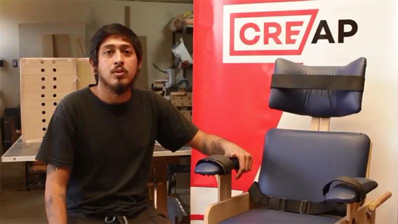 Fundación Para El Desarrollo De Tucumán Incubó Un Proyecto De Fabricación De Sillas Posturales Para Niños Discapacitados